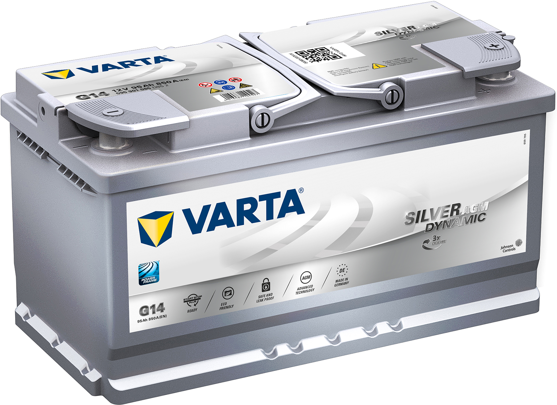 Varta Silver Dynamic AGM 595 901 085 (95 А·ч)