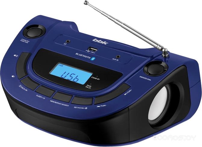Магнитола BBK BS07BT (Темно-синий)