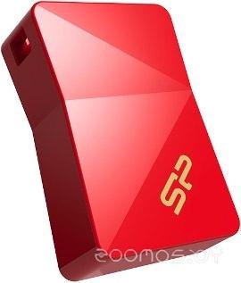 USB Flash Silicon Power Jewel J08 16GB (Red)