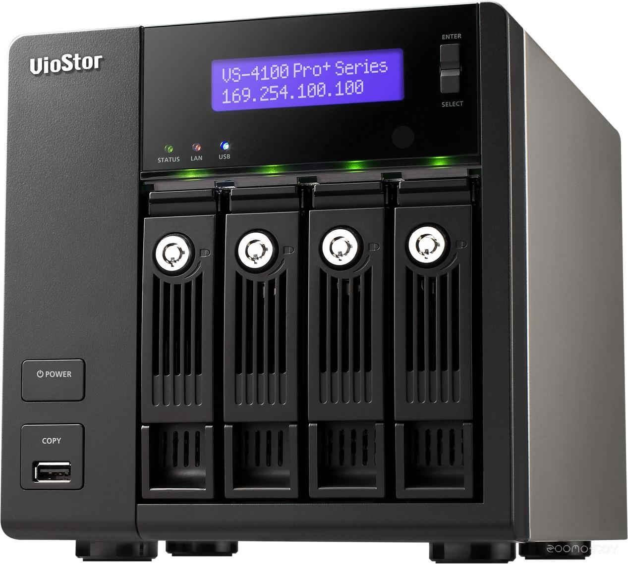Видеорегистратор наблюдения QNAP VS-4112 Pro+