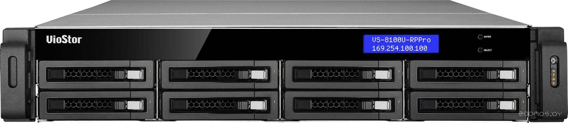 Видеорегистратор наблюдения QNAP VS-8140U-RP Pro