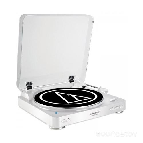 Виниловый проигрыватель Audio-Technica AT-LP60BT (White)