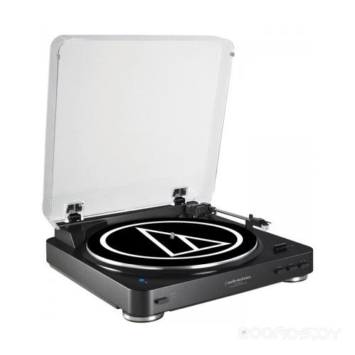 Виниловый проигрыватель Audio-Technica AT-LP60BT (Black)