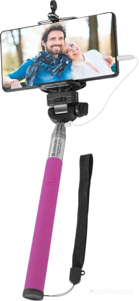 Палка для селфи Defender Selfie Master SM-02 (Pink)