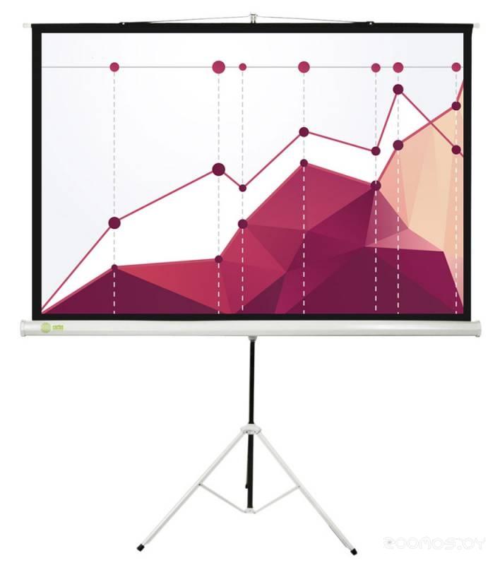 Проекционный экран Cactus Triscreen CS-PST-180x180