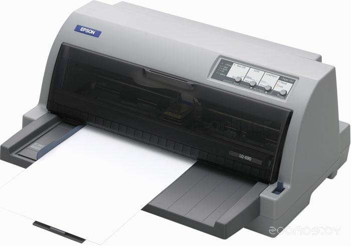 Матричный принтер Epson LQ-690 Flatbed