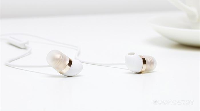 Наушники Xiaomi Capsule (White/Gold)