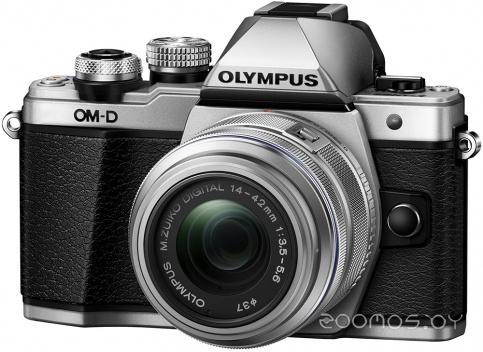 Цифровая фотокамера Olympus OM-D E-M5 Mark II Kit 14-42mm (Silver)
