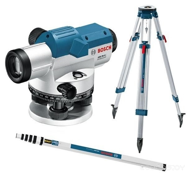 Лазерный нивелир Bosch GOL 26 D + BT 160 + GR 500 KIT