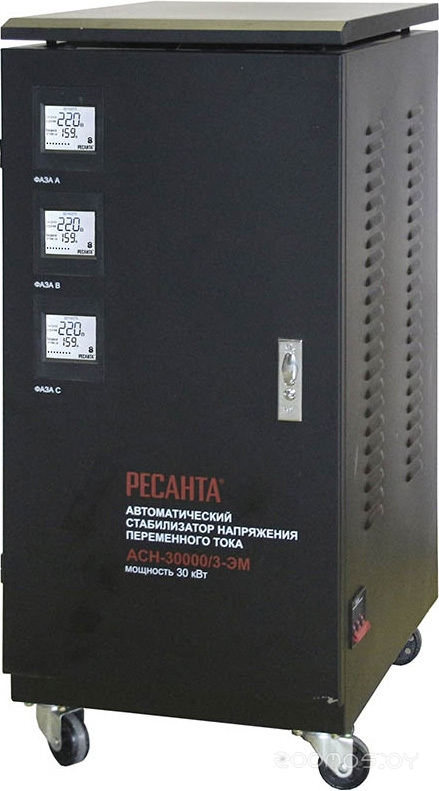 Стабилизатор Ресанта ACH-30000/3-ЭМ