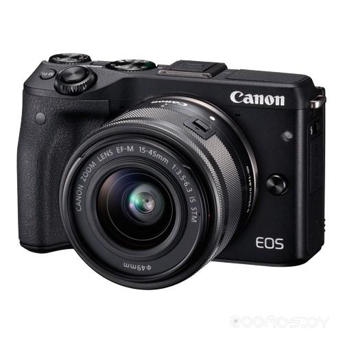 Цифровая фотокамера Canon EOS M3 Kit 15-45mm STM