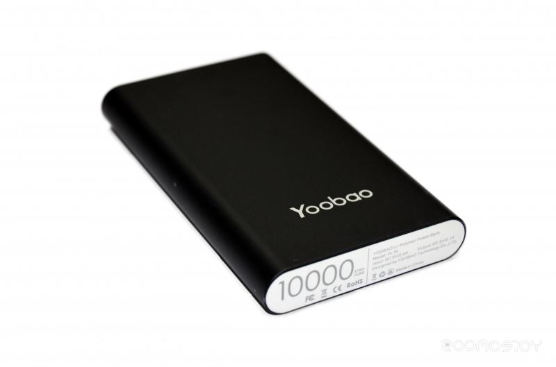 Портативное зарядное устройство Yoobao YB-PL10 (Black)