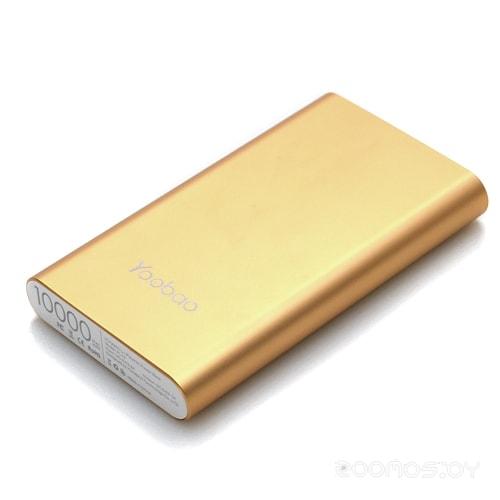 Портативное зарядное устройство Yoobao YB-PL10 (Gold)