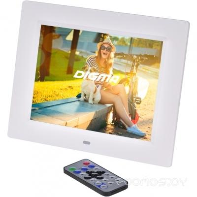 Цифровая фоторамка DIGMA PF-833 (White)