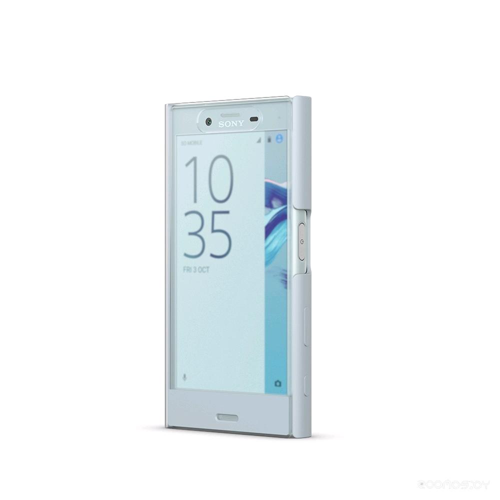 Чехол Sony SCTF20 для Xperia X Compact (Mist blue)