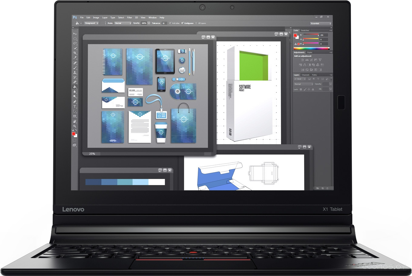 Планшет Lenovo ThinkPad X1 Tablet 256Gb (20GG002BRT)