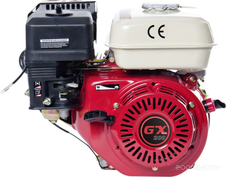 Двигатель Zigzag GX 200 [168F/P-2-L3]
