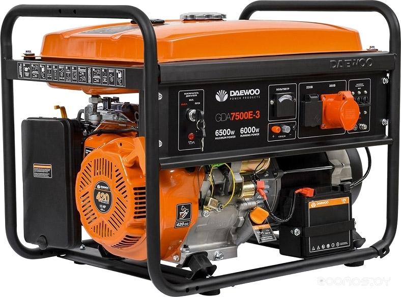 Генератор Daewoo Power GDA 7500E-3