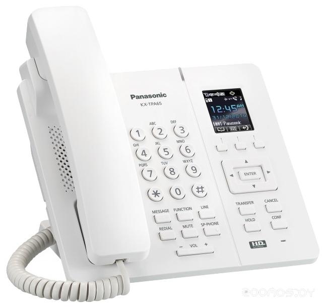 VoIP-телефон Panasonic KX-TPA65RUW
