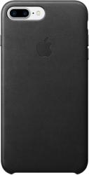 Apple Leather Case для iPhone 7 Plus Black [MMYJ2]