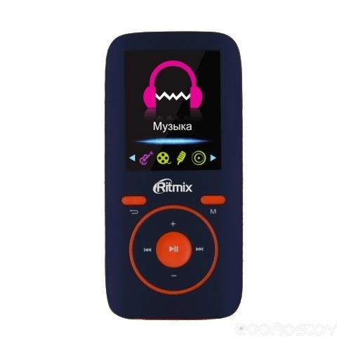 MP3-плеер Ritmix RF-4450 4Gb (Blue/Orange)