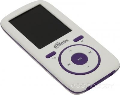 MP3-плеер Ritmix RF-4450 4Gb (White/Violet)