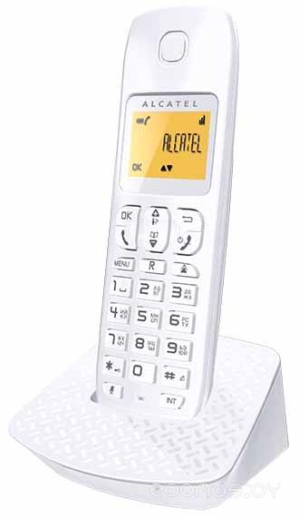Радиотелефон Alcatel Е132 (White)