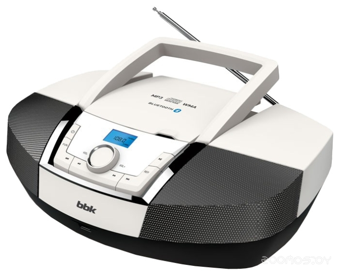Магнитола BBK BX519BT (White/Black)