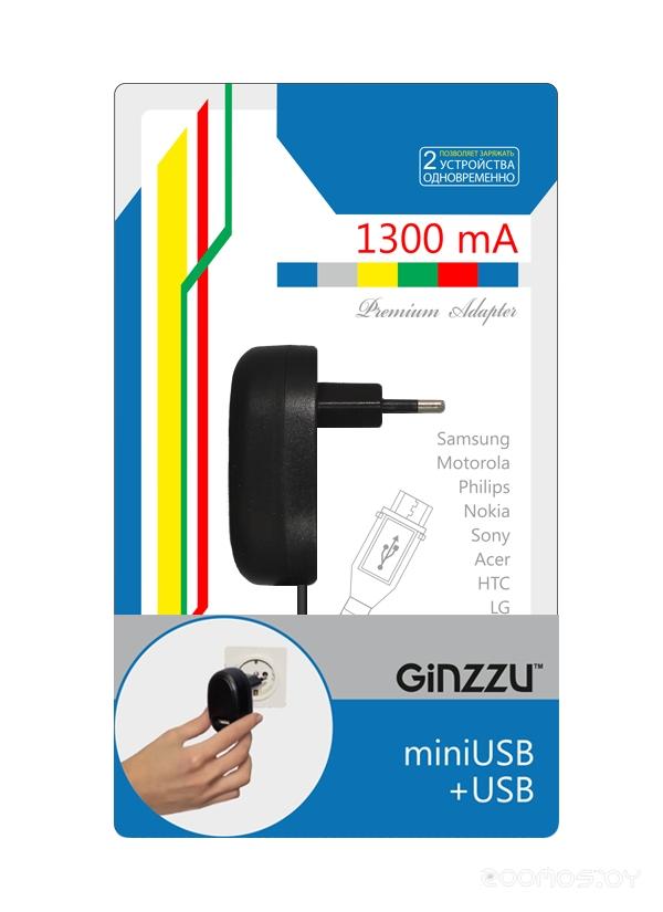 Сетевое зарядное устройство Ginzzu GA-3108UB