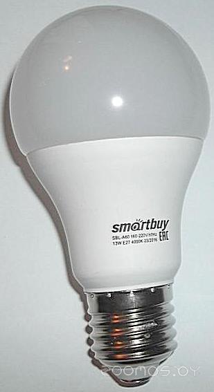 Лампочка SmartBuy A60 E27 11 Вт 4000 К