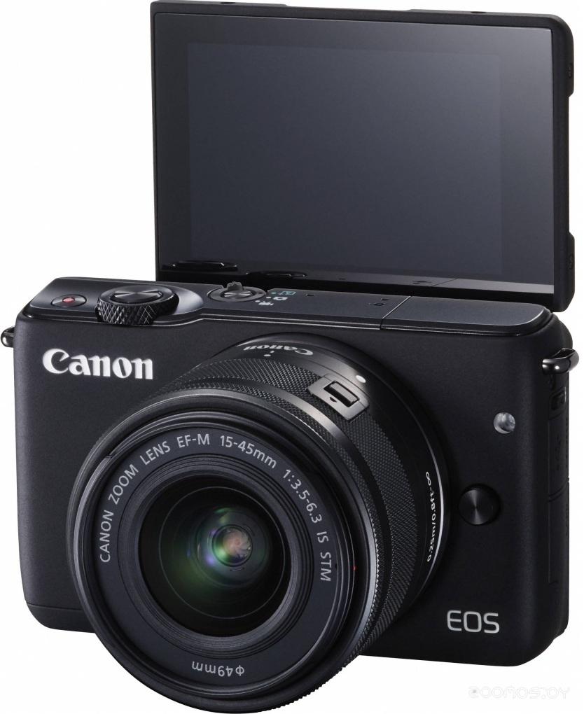 Цифровая фотокамера Canon EOS M10 Kit 15-45 mm (Black)