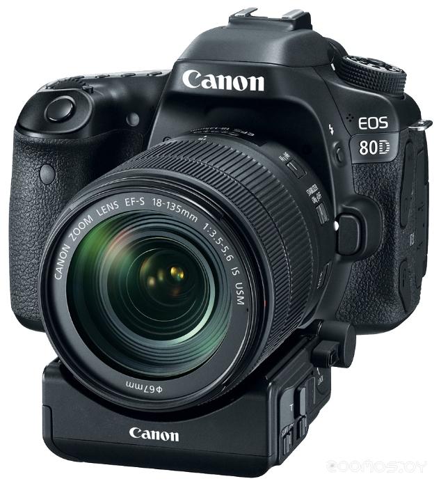 Цифровая фотокамера Canon EOS 80D Kit 18-135 mm IS Nano